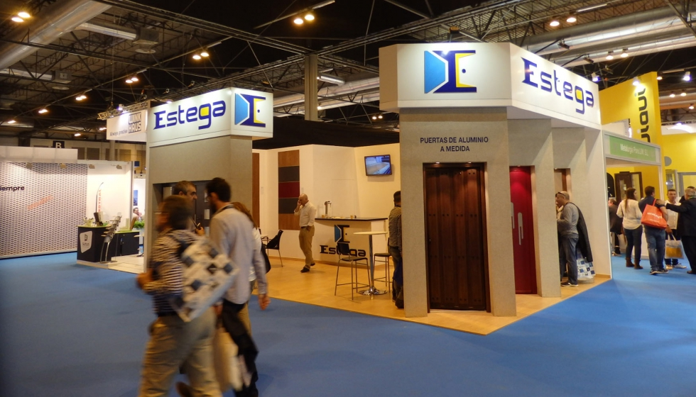 Door, window and glass market show their news at Veteco