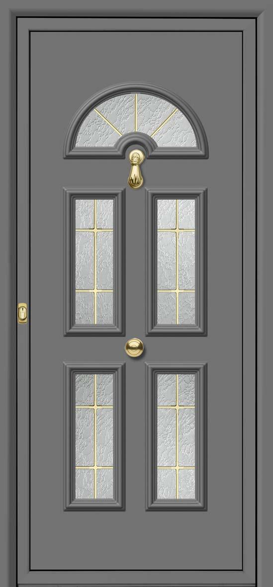 Olvia 5 vidrios barrotillo oro